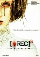 [REC]³ Génesis - Polish DVD cover (xs thumbnail)