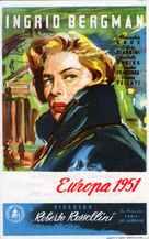 Europa '51 - Spanish Movie Poster (xs thumbnail)