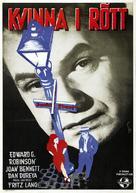 Scarlet Street - Swedish Movie Poster (xs thumbnail)