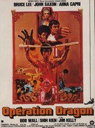 Enter The Dragon - French Movie Poster (xs thumbnail)