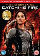 The Hunger Games: Catching Fire - British DVD cover (xs thumbnail)