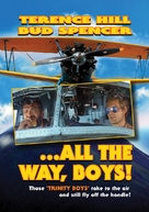 Più forte, ragazzi! - DVD cover (xs thumbnail)