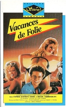 Fraternity Vacation - French VHS movie cover (xs thumbnail)