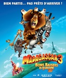 Madagascar 3: Europe's Most Wanted - Swiss Movie Poster (xs thumbnail)