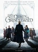 Fantastic Beasts: The Crimes of Grindelwald - French Movie Poster (xs thumbnail)