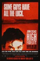 High Fidelity - British Movie Poster (xs thumbnail)
