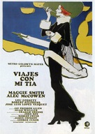 Travels with My Aunt - Spanish Movie Poster (xs thumbnail)