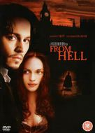 From Hell - British DVD movie cover (xs thumbnail)