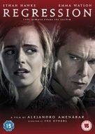 Regression - British DVD movie cover (xs thumbnail)