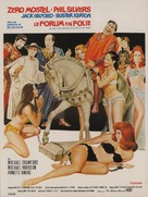 A Funny Thing Happened on the Way to the Forum - French Movie Poster (xs thumbnail)