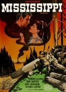 River Lady - Danish Movie Poster (xs thumbnail)