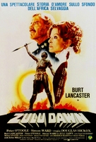 Zulu Dawn - Italian Movie Poster (xs thumbnail)