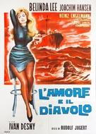 Der Satan lockt mit Liebe - Italian Movie Poster (xs thumbnail)