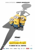 Minions - Czech Movie Poster (xs thumbnail)