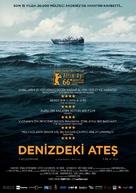Fuocoammare - Turkish Movie Poster (xs thumbnail)