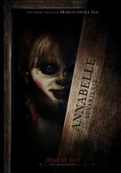 Annabelle: Creation - Slovenian Movie Poster (xs thumbnail)