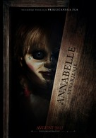 Annabelle: Creation - Slovenian Movie Poster (xs thumbnail)