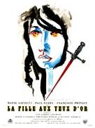 Fille aux yeux d'or, La - French Movie Poster (xs thumbnail)