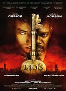 1408 - Danish Movie Poster (xs thumbnail)
