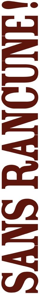 Sans rancune - French Logo (xs thumbnail)