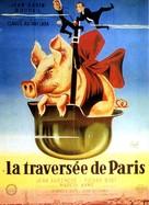 La traversée de Paris - French Movie Poster (xs thumbnail)