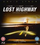 Lost Highway - British Blu-Ray movie cover (xs thumbnail)