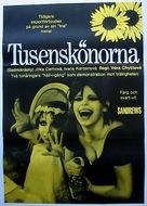 Sedmikrasky - Swedish Movie Poster (xs thumbnail)