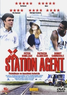 The Station Agent - Finnish Movie Cover (xs thumbnail)