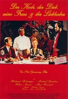 The Cook the Thief His Wife & Her Lover - German Movie Poster (xs thumbnail)