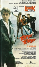 Tuff Turf - Brazilian Movie Cover (xs thumbnail)