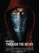 Metallica Through the Never - Bulgarian Movie Poster (xs thumbnail)