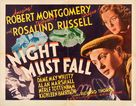 Night Must Fall - Theatrical poster (xs thumbnail)