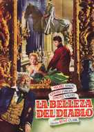 La beautè du diable - Spanish Movie Poster (xs thumbnail)
