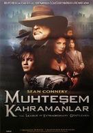 The League of Extraordinary Gentlemen - Turkish Movie Poster (xs thumbnail)