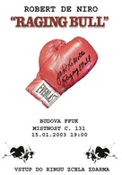 Raging Bull - Czech Re-release poster (xs thumbnail)