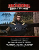 """Dragons: Riders of Berk"" - Movie Poster (xs thumbnail)"