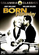 Born Yesterday - Australian DVD movie cover (xs thumbnail)