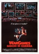 WarGames - Italian Movie Poster (xs thumbnail)