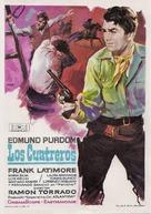 Cuatreros, Los - Spanish Movie Poster (xs thumbnail)