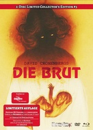 The Brood - German Blu-Ray movie cover (xs thumbnail)