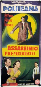 A Blueprint for Murder - Italian Movie Poster (xs thumbnail)