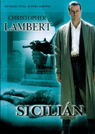 The Sicilian - Czech DVD cover (xs thumbnail)