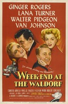 Week-End at the Waldorf - Movie Poster (xs thumbnail)