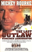 The Last Outlaw - Finnish VHS movie cover (xs thumbnail)