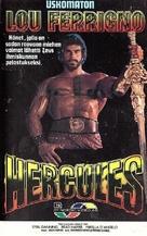 Hercules - Finnish VHS cover (xs thumbnail)