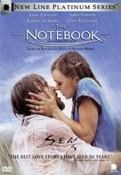 The Notebook - South Korean DVD movie cover (xs thumbnail)