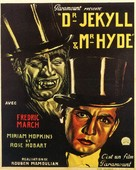 Dr. Jekyll and Mr. Hyde - Belgian Movie Poster (xs thumbnail)