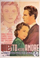 This Love of Ours - Italian Movie Poster (xs thumbnail)