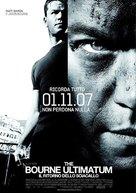 The Bourne Ultimatum - Italian Movie Poster (xs thumbnail)