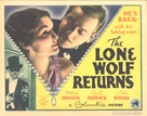 The Lone Wolf Returns - Movie Poster (xs thumbnail)